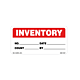 Inventory Labels, 2 Inches x 4 Inches, 500 per Roll