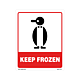 Keep Frozen Labels - 5 Inches x 4 Inches