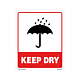 Keep Dry Labels - 5 Inch x 4 Inch