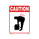 Caution Labels - 5.25 Inch x 4 Inch,