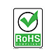 RoHS Compliant Labels with Check Mark - 5.25 Inch x 4 Inch