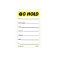 Yellow QC Hold Labels, 3 Inch x 2 Inch, 500 per Roll