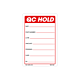 Red QC Hold Labels - 3 Inch x 2 Inch
