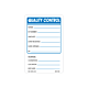 Quality Control Labels, 3 inch x 2 Inch
