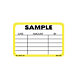 Sample Labels - 2 Inch x 3 Inch