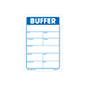 Buffer Labels - 3 Inch x 2 Inch