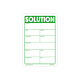 Solution Labels - 3 Inch x 2 Inch