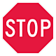 24 Inch Reflective Aluminum Stop Sign