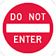 Do Not Enter Sign, 24 Inch x 24 Inch