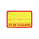 To be Cleaned Labels - 2 Inch x 3 Inch