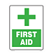 First Aid Styrene Sign