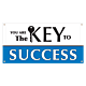 You Are the Key to Success Banner