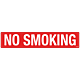 Pack of No Smoking Decal