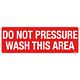 Do Not Pressure Wash Decal