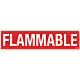 Pack of Flammable Decal