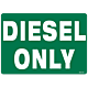 Diesel Only Decal