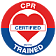 CPR Trained Hard Hat Emblem