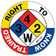 Right To Know Trained Hard Hat Emblem