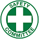 Safety Committee Hard Hat Emblem
