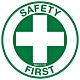 Safety First Hard Hat Emblem