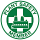 Plant Safety Member Hard Hat Emblem