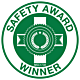 Safety Award Winner Hard Hat Emblem