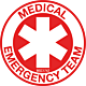 Medical Emergency Team Hard Hat Emblem
