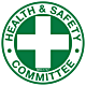 Health and Safety Committee Hard Hat Emblem