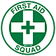 First Aid Squad Hard Hat Emblem