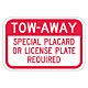 Tow-Away Parking Sign