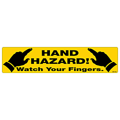 Watch Your Fingers Decal