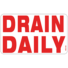 Drain Daily Decal