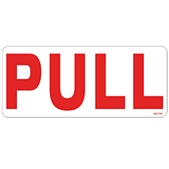 Pull Decal