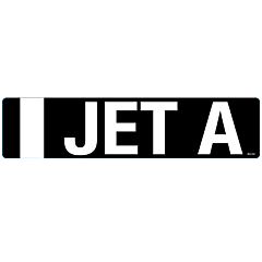 I Jet A Decal